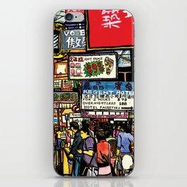 Hong Kong Mongkok Street iPhone Skin