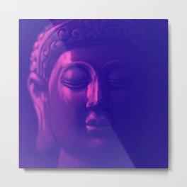 Calm Buddha Metal Print