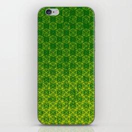 D20 Druid Ranger Crit Pattern Premium iPhone Skin