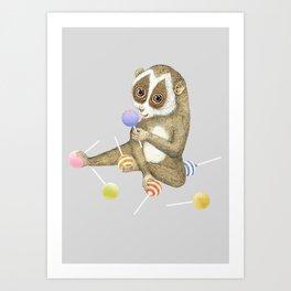 Loris Art Print