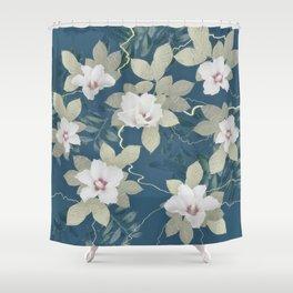 FLORAL ENGLISH GARDEN Shower Curtain