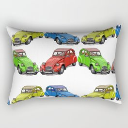 2CV pattern new Rectangular Pillow