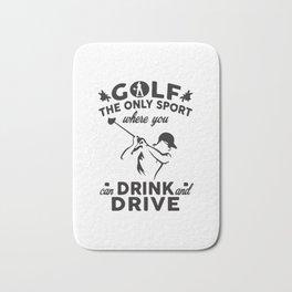 Golf The Only Sport Bath Mat