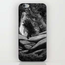 Follow the Woodcutter iPhone Skin