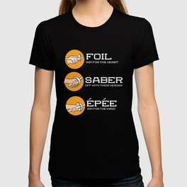 Foil Saber Epee | Fencing T-shirt