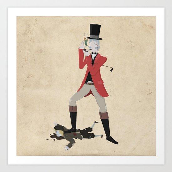Sir Snobbery Art Print