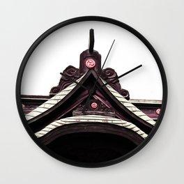 yashiro Japanese  Shrine God's house Wall Clock