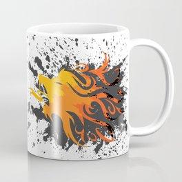Fire Lion Coffee Mug