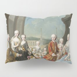 Van Meytens Martin. La famiglia imperiale - Imperial Family Pillow Sham