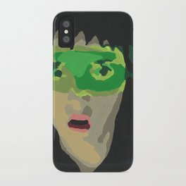 Paint by Number Lydia Deetz iPhone Case