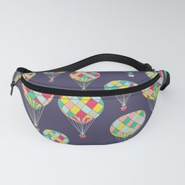 Hot Air Balloon Pattern Fanny Pack