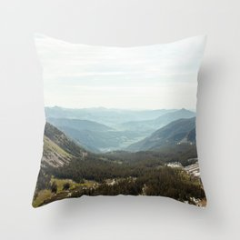 Scarp Ridge Trail 2 Throw Pillow