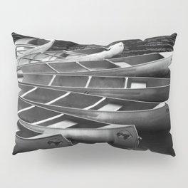 Moored Kayaks Pillow Sham