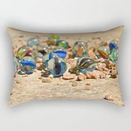 Rocky Marbles Rectangular Pillow