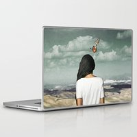 crown Laptop & iPad Skins featuring The Crown by Seamless