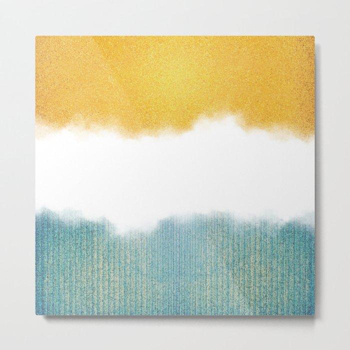 Teahupo'o, sea and sand Metal Print