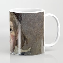 Portrait of his son Jean Monet in a pompom bonnet Coffee Mug