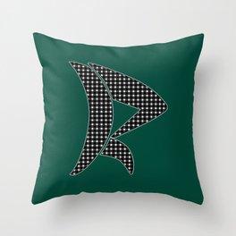 Gingham Pattern Throw Pillow
