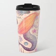 Little Mermaid Metal Travel Mug