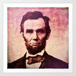Lincoln: The Ballot is Stronger than the Bullet Art Print