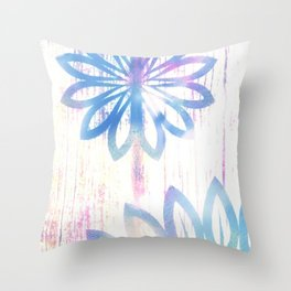 Pastel Embrace Throw Pillow