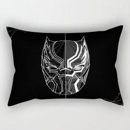 04   Constellation Black Panther Rectangular Pillow