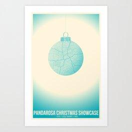 Pandarosa Christmas Showcase 2011 Art Print