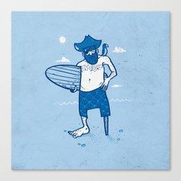 Surf Season Canvas Print