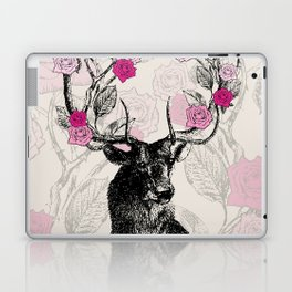 The Stag and Roses Laptop & iPad Skin