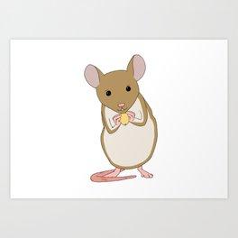 House Mouse Art Print