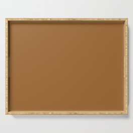 Solid Color COFFEE Serving Tray