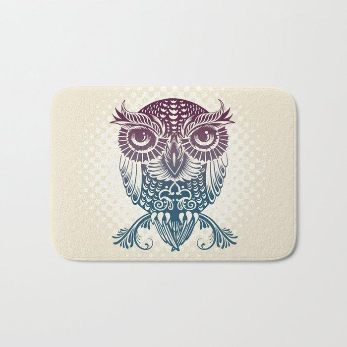 Baby Egyptian Owl Bath Mat