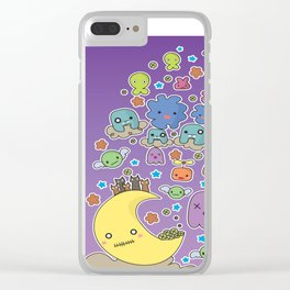 Night Creatures Clear iPhone Case