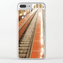 Going Underground in Prague Clear iPhone Case