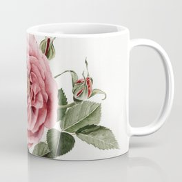 Dusty English Red Rose Coffee Mug