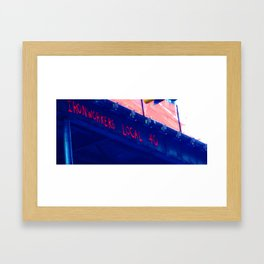 Iron Workers  Framed Art Print