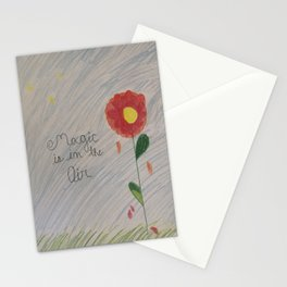 Magic is in the Air Stationery Cards