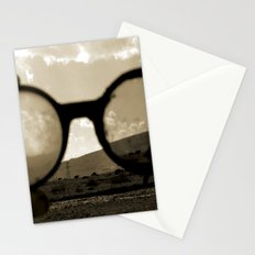 Glasses on the Horizon Stationery Cards