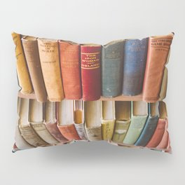 The Colorful Library Pillow Sham