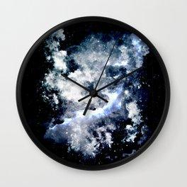 Frozen Galaxy Wall Clock