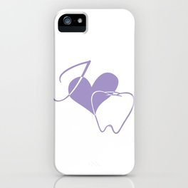 I (heart) Tooth iPhone Case