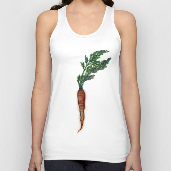 Rooted: The Carrot Unisex Tank Top