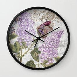 Victorian Romance II Wall Clock