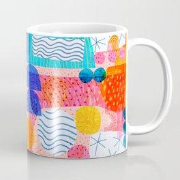 Felt Pen Happiness Coffee Mug