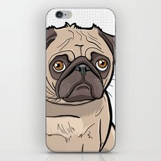 Fat Pug iPhone & iPod Skin