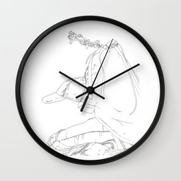 watching the show Wall Clock