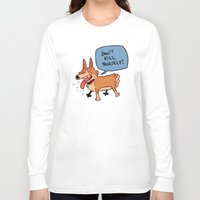 musa Long Sleeve T-shirts featuring deep cat thoughts by musa