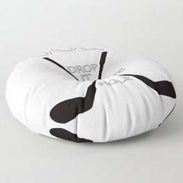 Golf Drop it in the Hole Floor Pillow