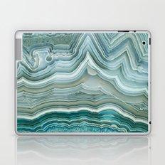 Agate Crystal Blue Laptop & iPad Skin