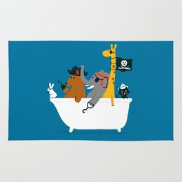 Everybody wants to be the pirate Rug